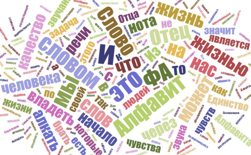 Что есть слово Алфавит